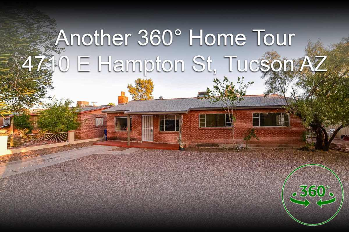 4710 East Hampton Street, Tucson AZ 85712 360° Home Tour