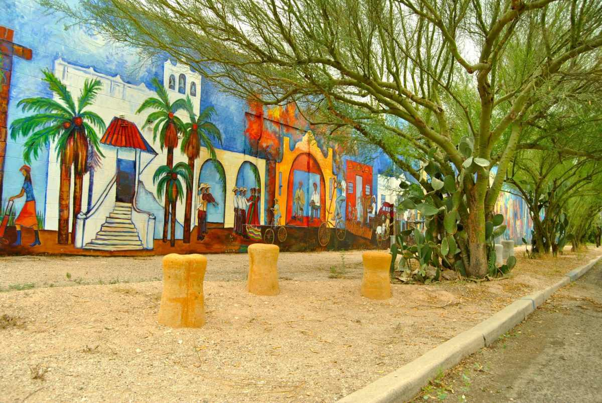 Beautiful Murals in Dunbar Springs
