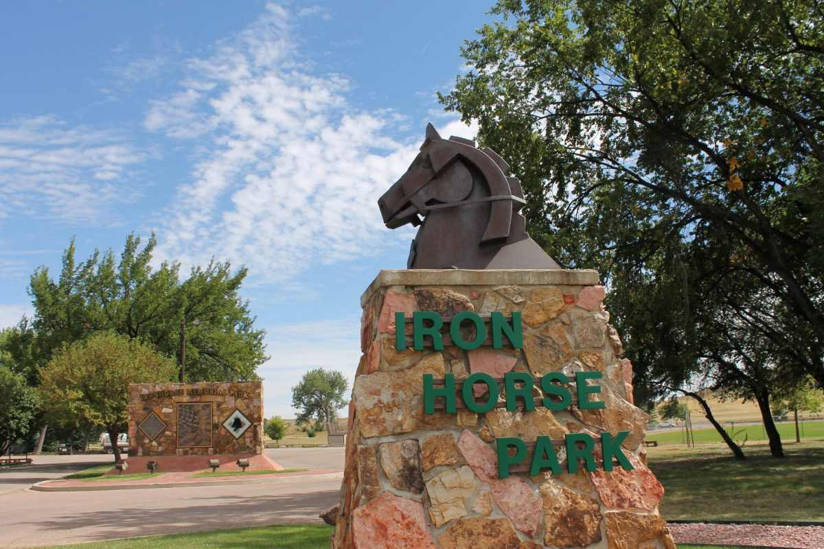 Iron Horse Memorial Park in Tucson