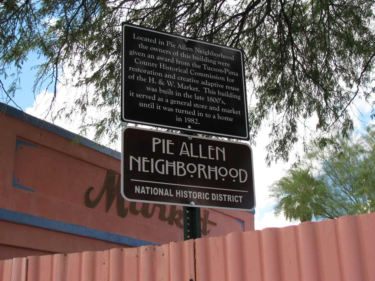 Pie Allen Neighborhood in Tucson, Arizona