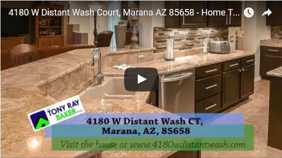 4180 W Distant Wash Court, Marana AZ 85658 - Home Tour with Darren Jones and Tony Ray