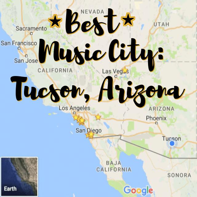 best music city