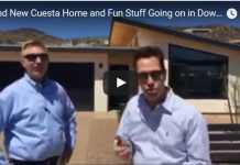 Brand New Cuesta Home and Fun Stuff Going on in Downtown Tucson