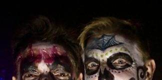 Dia de los Muertos (Day of the Dead) at All Souls Procession with Tony Ray and Darren